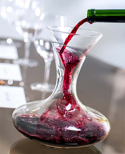 Red Wine in Decanter