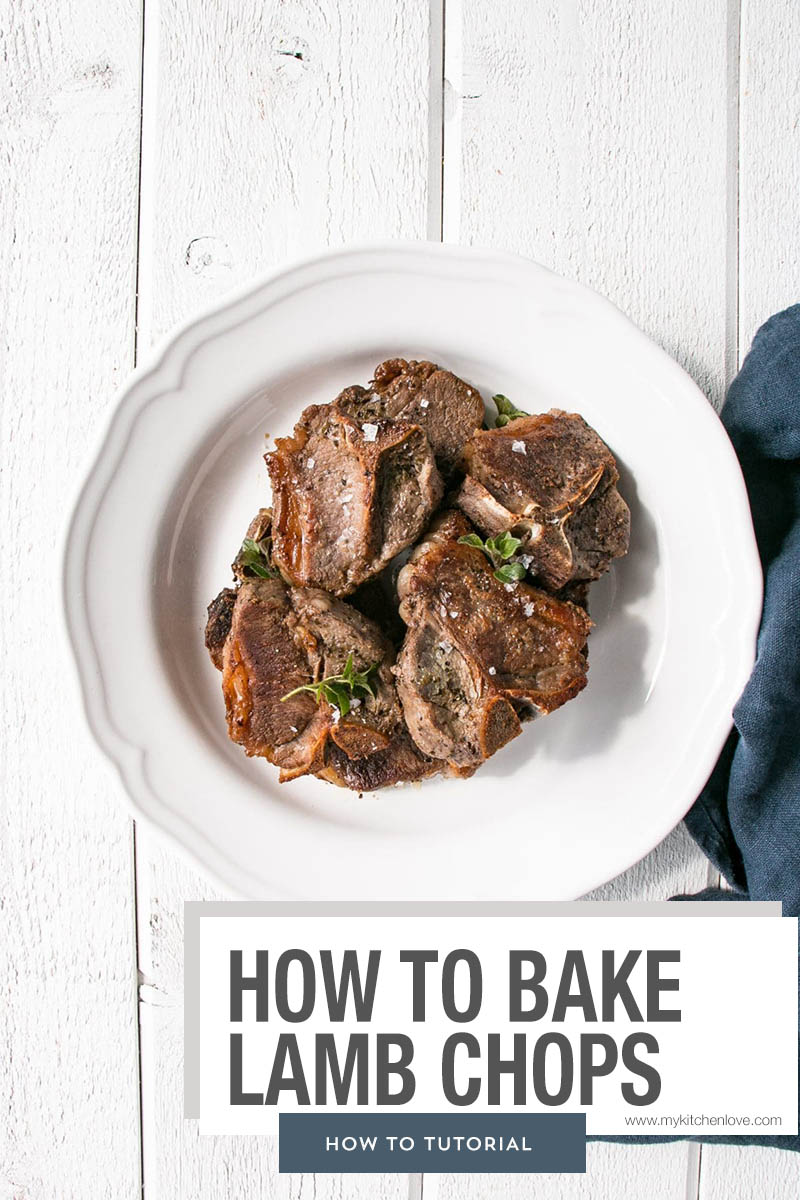 How To Bake Lamb Chops Short Pin