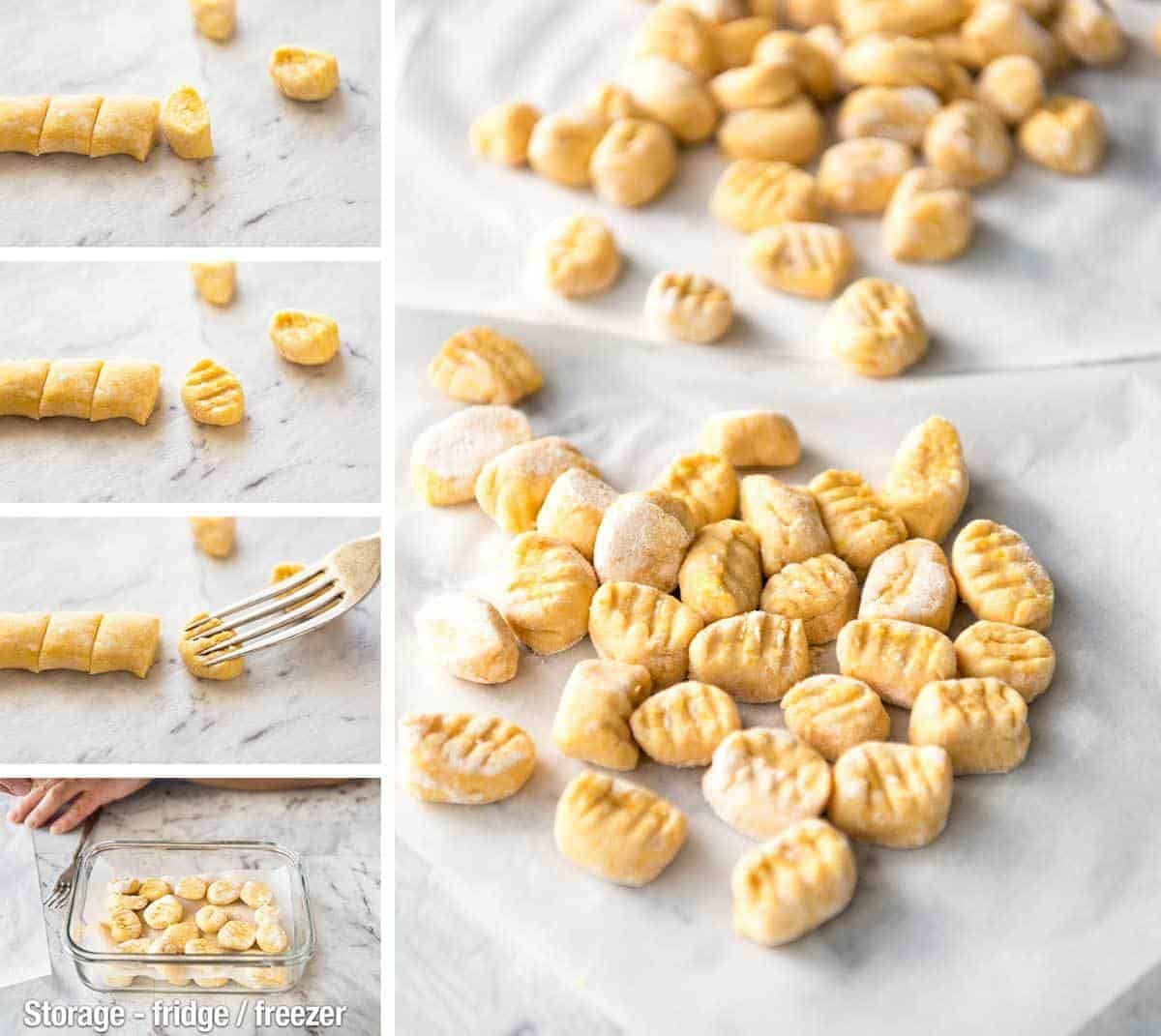 This Easy Pumpkin Gnocchi is, true to its name, easy to make. Pillowy soft inside, golden brown on the outside, and bathed in a classic Sage Butter sauce. recipetineats.com